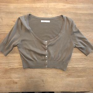 OLD NAVY short sleeve cropped cardigan